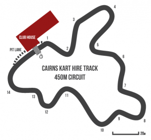 Cairns Kart Hire Track - 450M Circuit